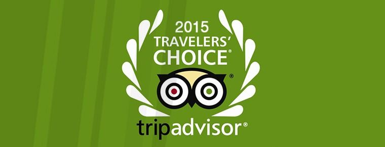 Traveller´s Choice 2015 award